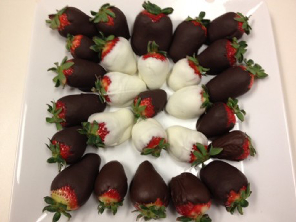 Recipe: More chocolate-covered strawberries