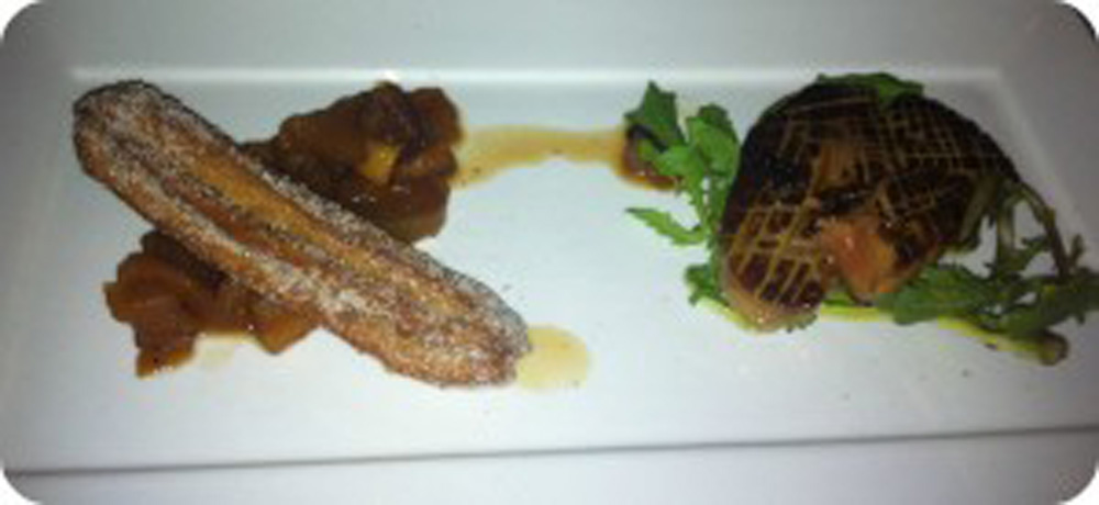 Mulvaney's B&L - Foie Gras and Churro