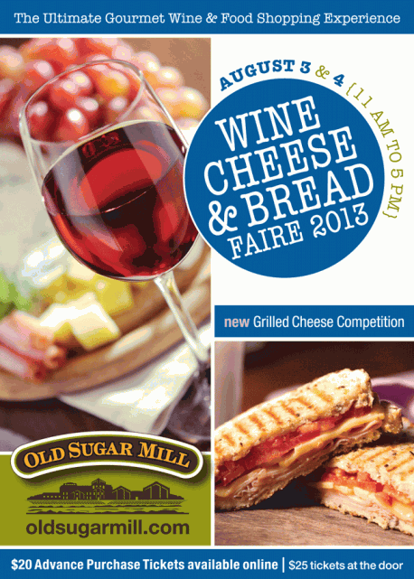 Wine Cheese & Bread Faire 2013 Giveaway: The Ultimate Gourmet Wine & Food Shopping Experience