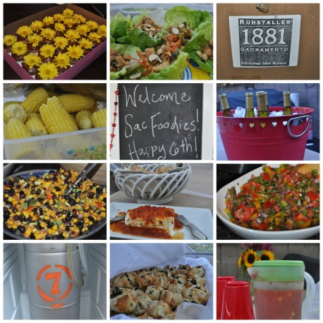 Wordless Wednesday: SacFoodies 6th Annual Anniversary Potluck!