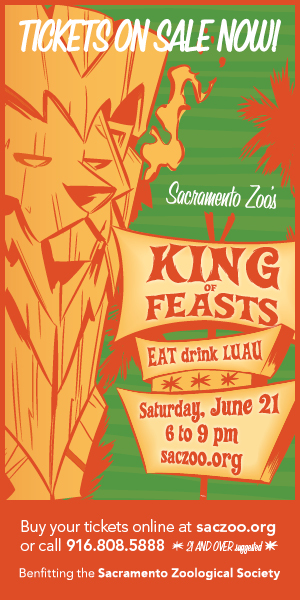 "Sacramento Zoo's ""King of Feasts"" Ticket Giveaway"